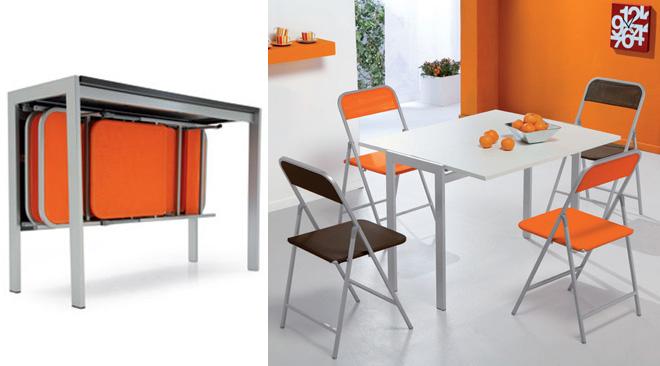 Come scegliere la consolle che si integri con l 39 arredamento - Tavolo per cucina piccola ...