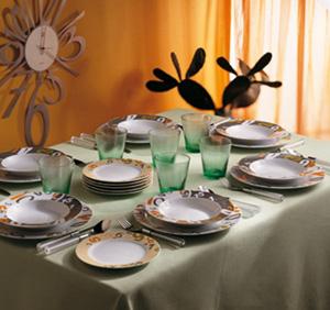 Come apparecchiare il tavolo da pranzo for Tavola da pranzo