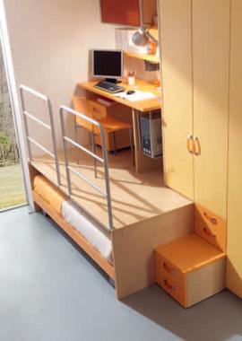 Scrivanie scrittoi e tavoli per lavorare a casa consigli utili - Letto con scrivania estraibile ...
