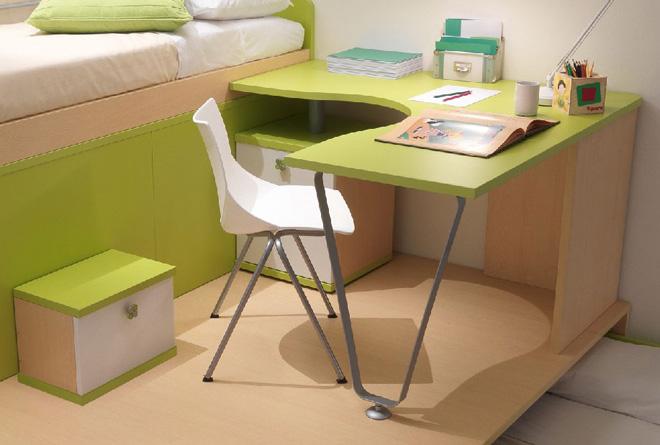 Scrivania Ad Angolo Con Libreria : Scrivania ad angolo per camerette design casa creativa e mobili
