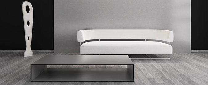 Tavolino moderno e minimal per il salotto