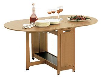 Tavolo in legno robusto solito e resistente - Tavolo richiudibile in legno ...