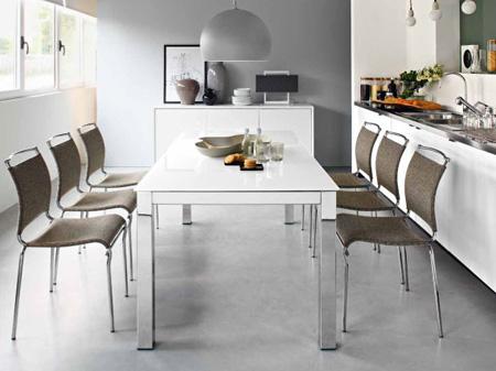 Tavoli moderni di design e non solo come scegliere - Runner da tavolo moderno ...