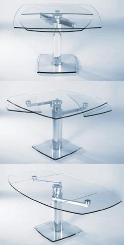 Come scegliere il tavolo da pranzo in base all 39 arredamento for Tavoli in cristallo e acciaio
