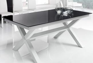 Tavolo vetro temperato tavoli allungabili e alzabili - Epierre