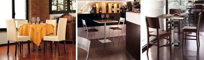 Tavolo bar e ristorante