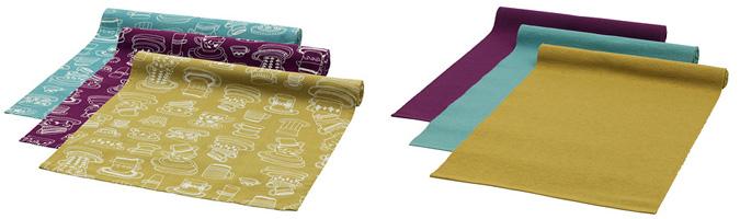 Come scegliere i tessili per il tavolo tovaglie runner e centrini - Tovaglia per tavolo salotto ...