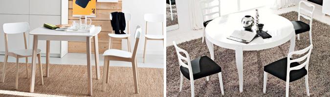 Forme dei tavoli